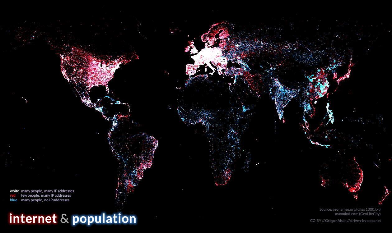 One 12 data visualisations that illustrate povertys biggest mapping the internet against population gumiabroncs Image collections